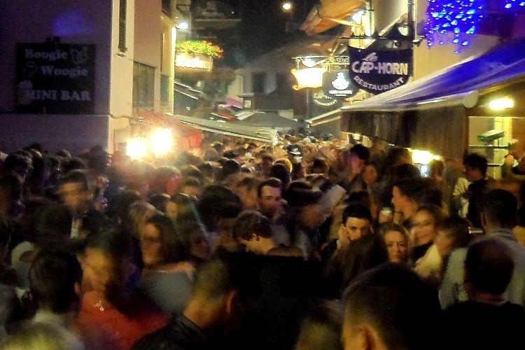 Fete de la Musique party in Chamonix